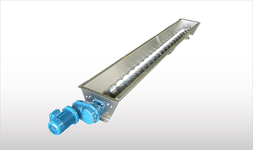 Stainless Steel Trough Screw Conveyors