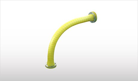 Wide Radius Anti-Wear Pipe Elbows