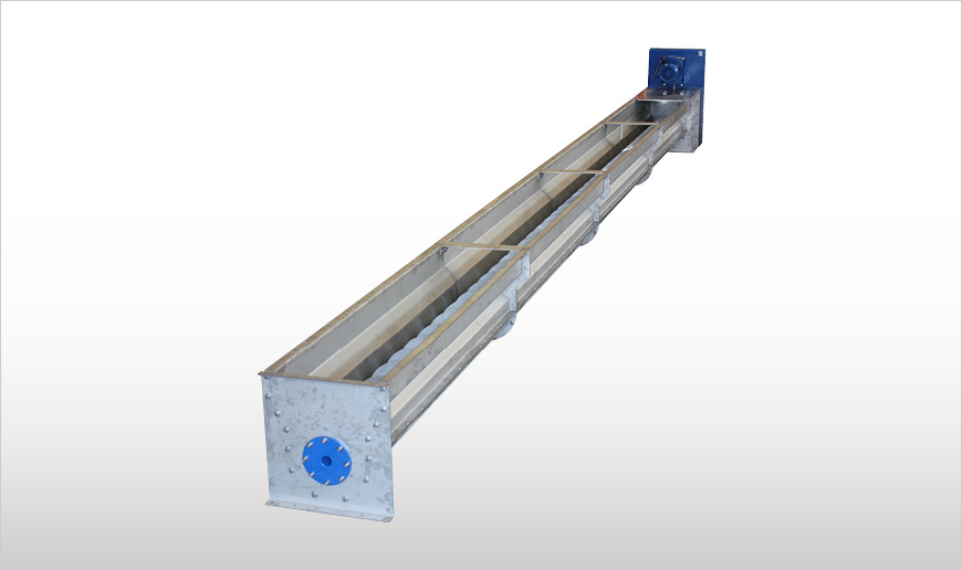 Trough Screw Conveyors for Animal By-Products